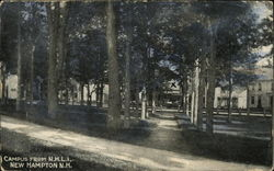 Campus from N.H.L.I Postcard