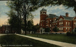 View of Earlham College
