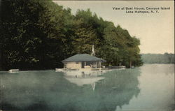 View of Boat House, Canopus Island