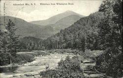 Whiteface from Wilmington Road Postcard