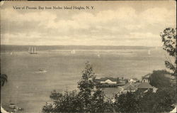 Vie of Peconic Bay From Shelter Island Heights