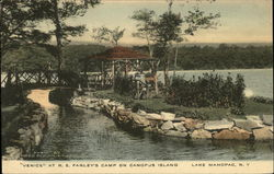 """Venice"" at R.E. Farley's Camp on Canopus Island"