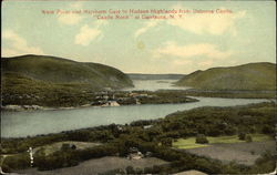 West Point and Northern Gate to Hudson Highlands from Osborne Castle, Castle Rock