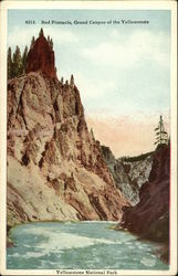 Red Pinnacle, Grand Canyon of the Yellowstone