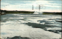 Rapids Above Horseshoe Falls, View From Ontario Power Company's Plant