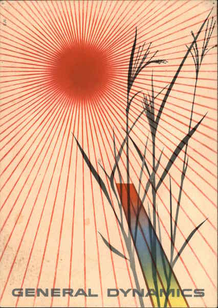 Power for Peace, General Dynamics Erik Nitsche Advertising