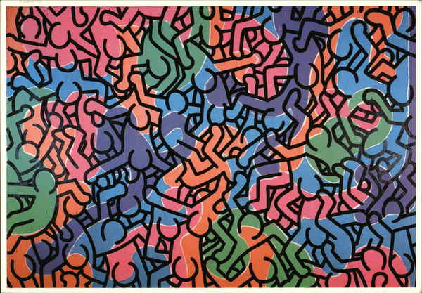 Keith Haring 1985 Untitled