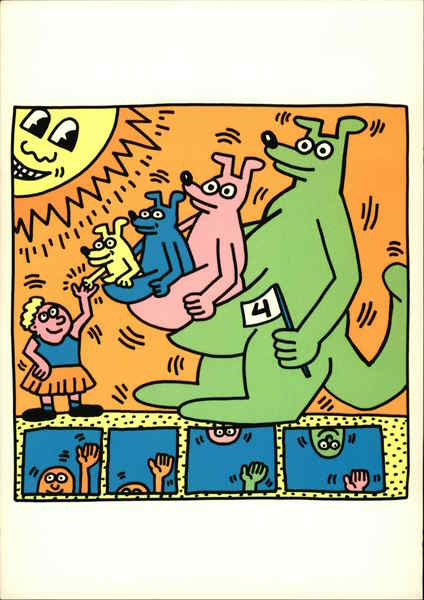 1993, The Estate of Keith Haring
