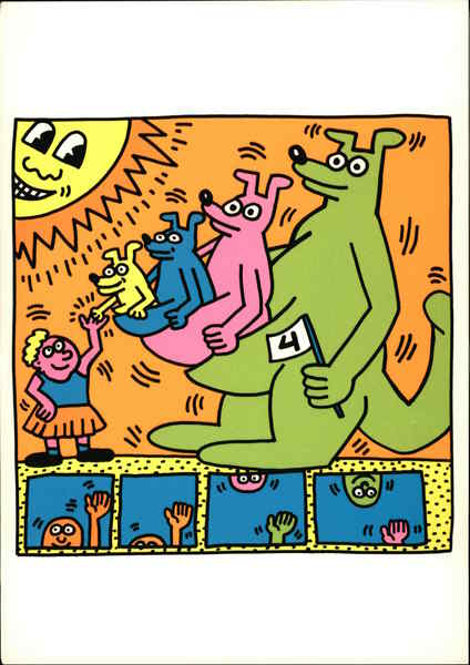 1993. the Estate of Keith Haring