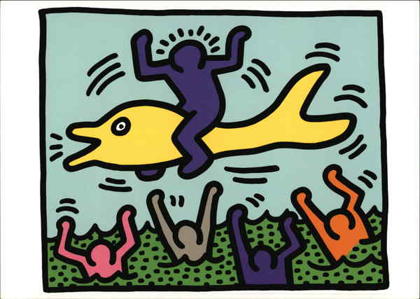 Keith Haring, 1958-1990, Untitled