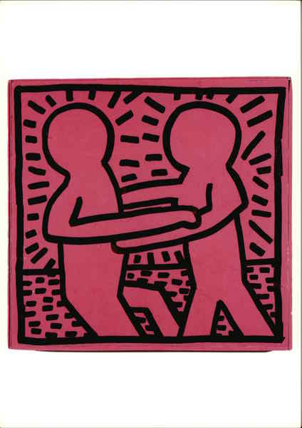Keith Haring, Untitled, 1981, Marker Ink on Board