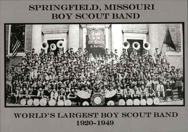 Springfield Missouri Boy Scout Band Boy Scouts