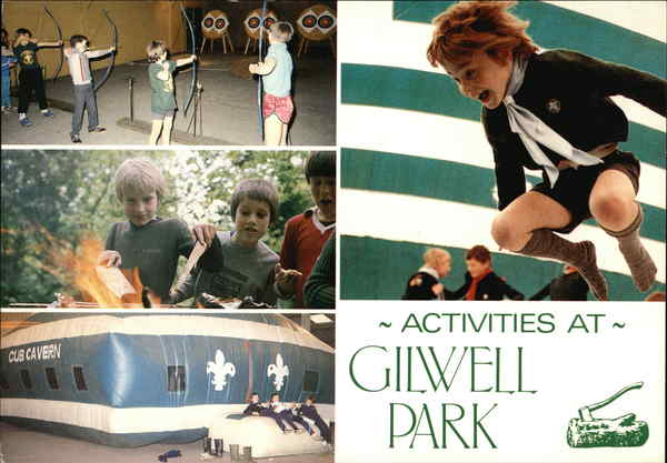 Activities at Gilwell Park England
