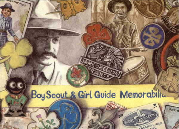 Boy Scout & Girl Guide Memorabilia North Yorkshire England