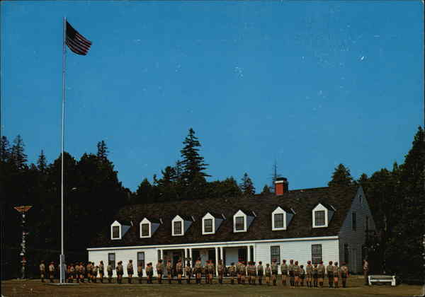 The Scout Barracks, Mackinac Island Scout Service Camp Michigan