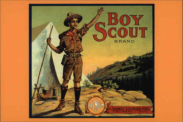 Boy Scout Brand Orange Distributors, Boy Scout ca. 1915