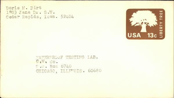 13 Cent Liberty Tree Stamp First Day Covers