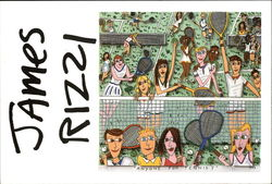 Anyone for Tennis? By James Rizzi