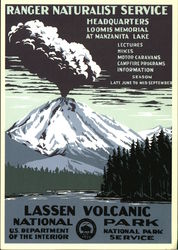 Lassen Volcanic National Park, Ranger Naturalist Service Headquarters