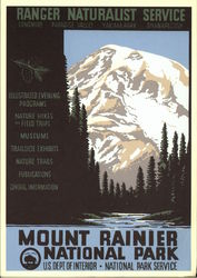 Ranger Naturalist Service, Mount Rainier National Park, U.S. Dept. of Interior, National Park Serv