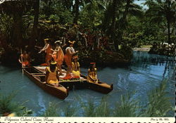 Polynesian Cultural Center Postcard