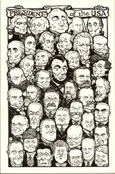 Presidents of the USA, Art by Rick Geary