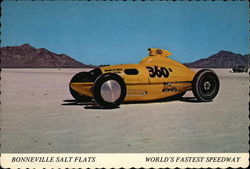 Bonneville Salt Flats, World's Fastest Speedway, Wendover, Utah-Nevada