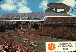 National Champion Clemson Tigers, 1981