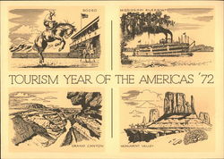 Tourism Year of the Americas '72, Domestic Surface Mail, First Day of Issue
