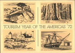 Tourism Year of the Americas '72 Domestic Surface Mail, First Day of Issue