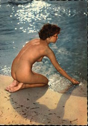 Nude Woman at Beach
