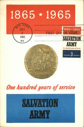 One Hundred Years of Service, Salvation Army, 1865-1965, First Day of Issue