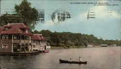 Summer Homes Among the 1000 Islands, St. Lawrence River