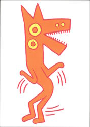 Keith Haring 1958-1990 Untitled