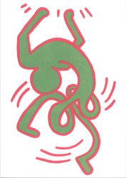 Keith Haring (1958-1990) Untitled 1984