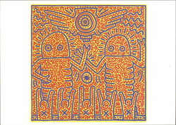 Keith Haring, 1984 Untitled