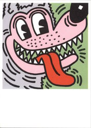 Big Bad Wolf by Keith Haring