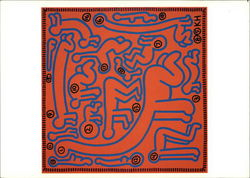Keith Haring, Untitled, 1985, Acrylic on Canvas