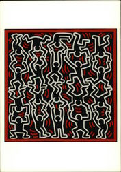 Keith Haring Untitled 1986 Acrylic on Canvas