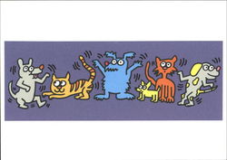 Billboard Design - Humane Society by Keith Haring