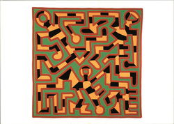 Keith Haring, 1988, Untitled, Acrylic on Canvas