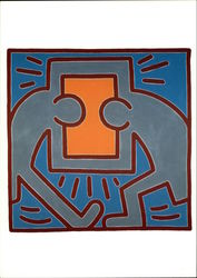 Keith Haring, Untitled #2, 1988, Acrylic on Canvas