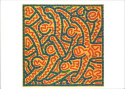 Keith Haring, Untitled, 1989, Acrylic and Enamel on Canvas