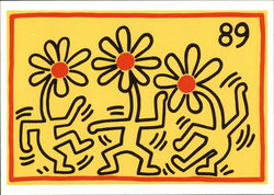 Keith Haring Untitled 1989
