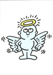 Lil' Angel by Keith Haring 1990