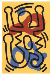 Keith Haring, 1958-1990, 26 September 1986