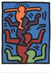 Keith Haring (1958-1990) sans titre