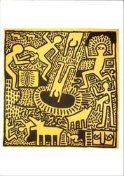 Keith Haring (American, 1958-1990) Untitled 1981