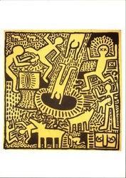 Keith Haring (American, 1958-1990) Untitled, 1981