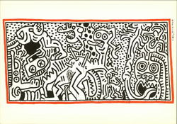 Keith Haring, 1984, Untitled